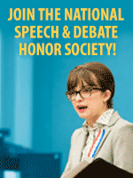 Join the National Speech and Debate Association
